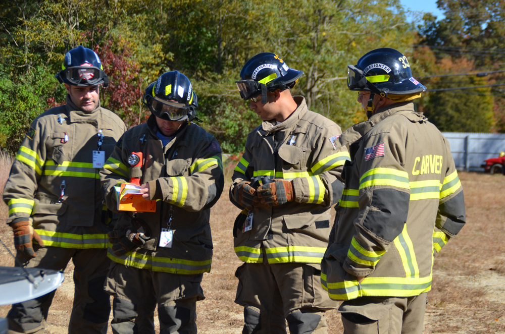 Company 3 Safety Officer Drill Fire Department Training