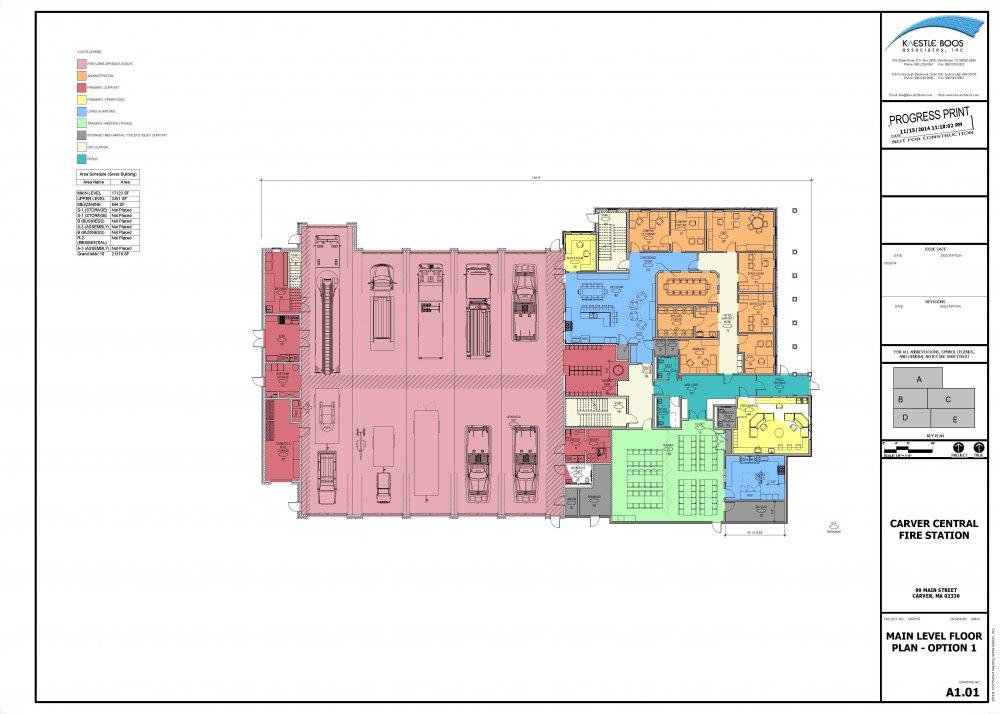 Fire station floor plans carver fire department for Floor plan planner