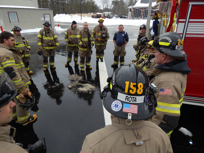 Company 1, 2 and Dive Team Drill – Training Facility