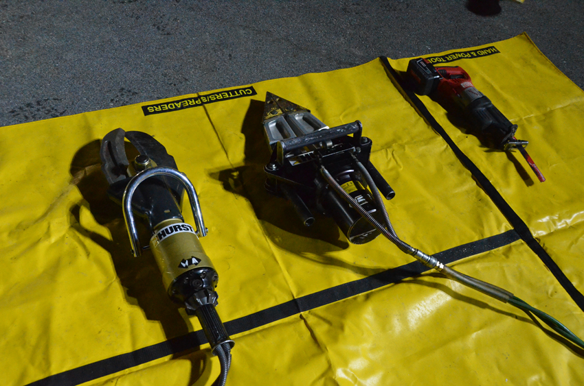 Recruit Training Class #16 – MVA Rescue Practical (Photo's by