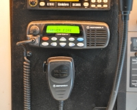 We utilize a CDM 1550 backup radio was third backup radio.  This unit has its own separate power supply, external antenna, and has toning capabilities for both Fire and EMS.