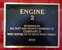 Engine 2 Plaque