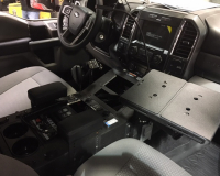 Floor Mounted Console