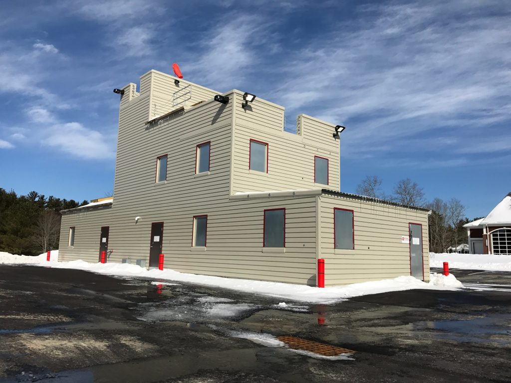 Our new training facility is officially open and will be home to our recruit training class of 2017 the three story training building is a fire facilities