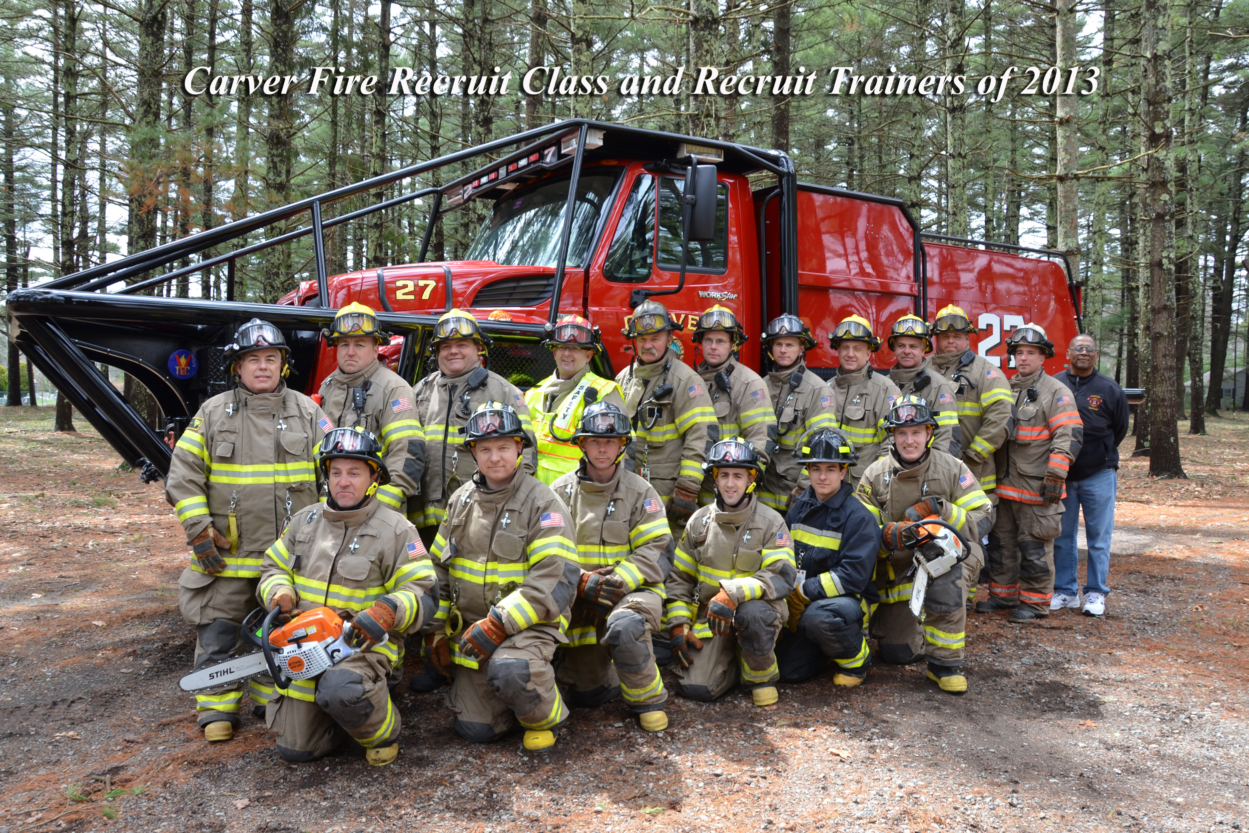 2013 Recruit Class and Trainers smaller