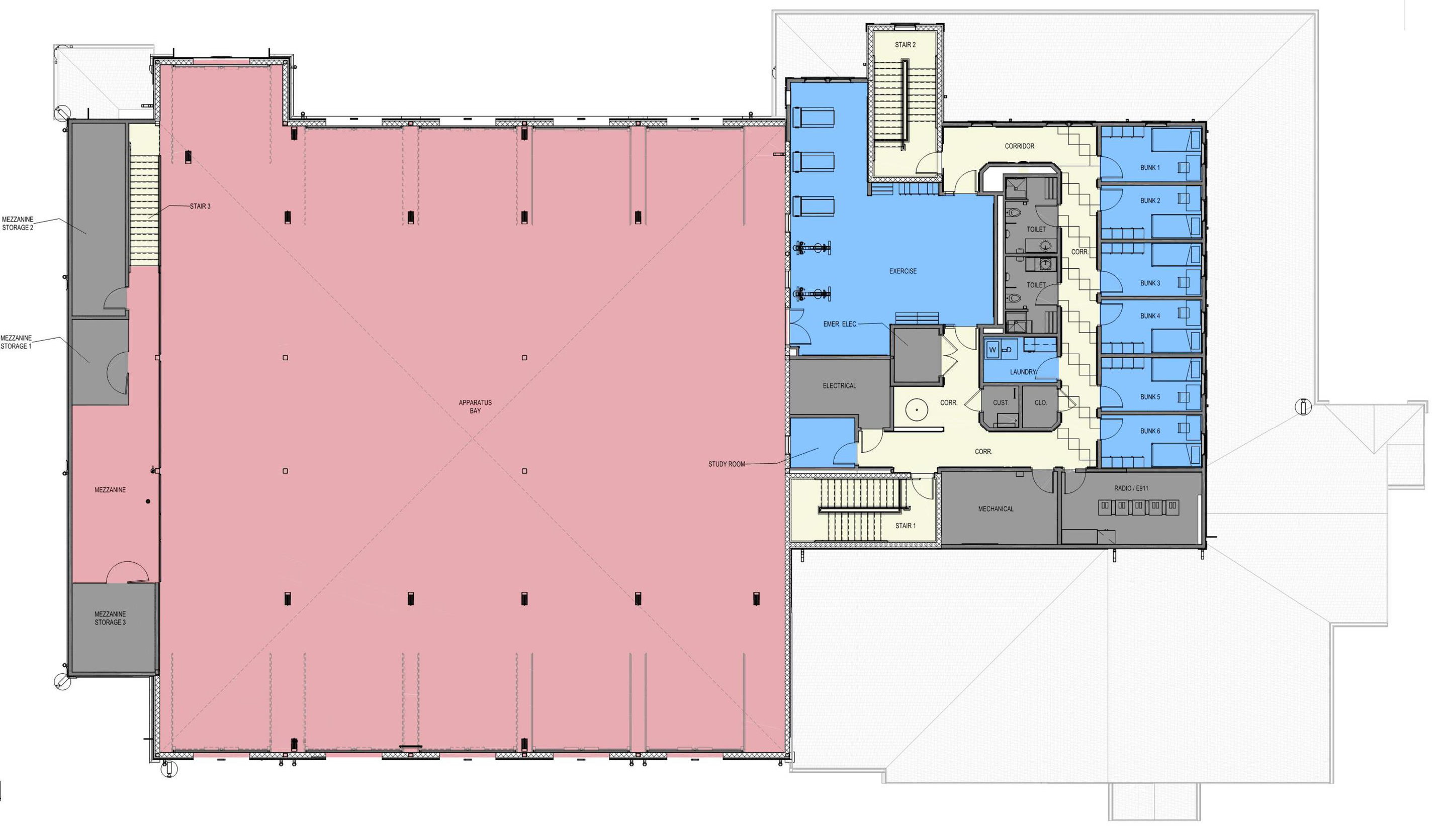 1- Colored Floor Plans