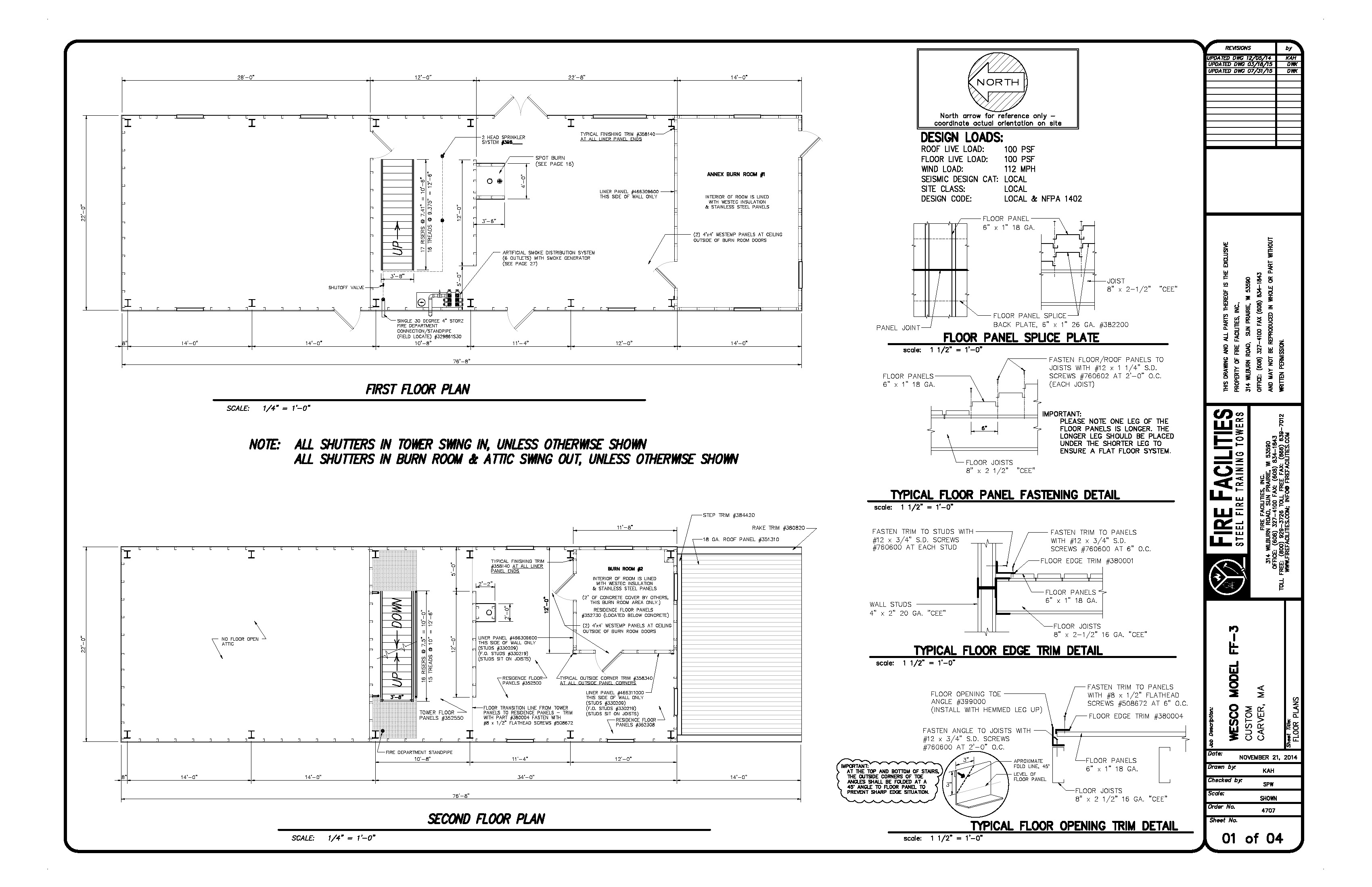 Trainng Facility Drawing 4707D_07-31-15 ATTACHMENT B_Page_1