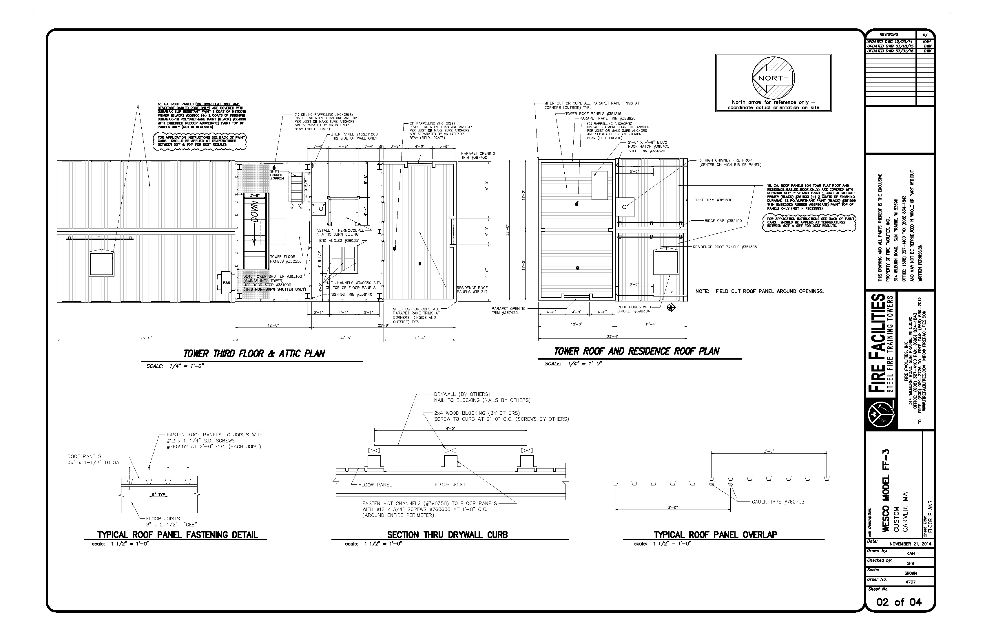 Trainng Facility Drawing 4707D_07-31-15 ATTACHMENT B_Page_2
